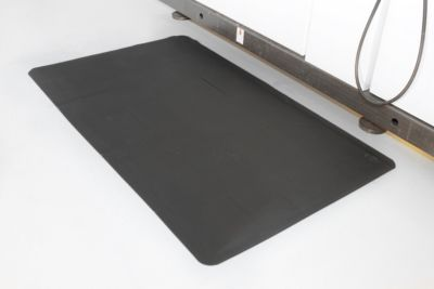 Ergonomiematte, gerippt - LxB 1500 x 900 mm, 2-lagig - Gewicht 8 kg