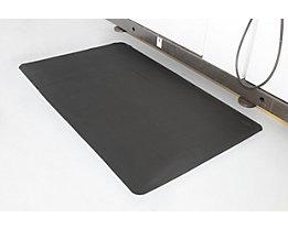 Ergonomiematte, gerippt - LxB 600 x 900 mm, 2-lagig