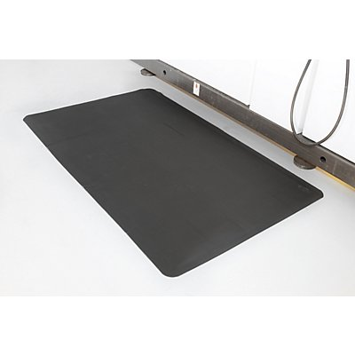 COBA Ergonomiematte, gerippt - LxB 1500 x 900 mm, 2-lagig - Gewicht 8 kg