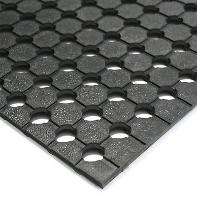 Tapis universel - hauteur 10 mm, noir - largeur 900 mm