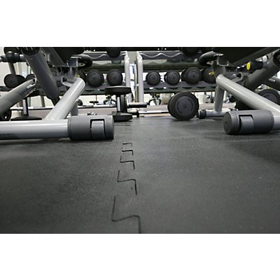 COBA Bodenbelag, Gummi - Endstück - LxB 610 x 610 mm
