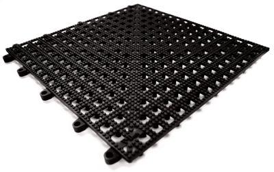 Flexi-Deck, VE 9 Stk - schwarz - LxB 300 x 300 mm