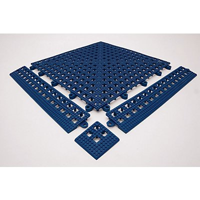 Plancher Flexi, lot de 9 - bleu - L x l 300 x 300 mm