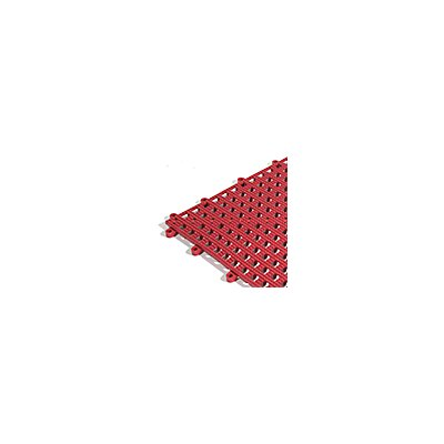 Plancher Flexi, lot de 9 - rouge - L x l 300 x 300 mm