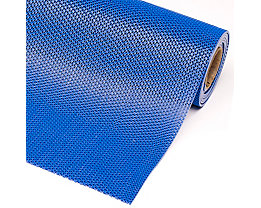 Anti-Rutschmatte, Höhe 5,3 mm - Breite 1200 mm, pro lfd. m - blau