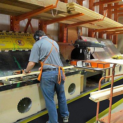 Notrax Arbeitsplatzmatte, PVC - Breite 910 mm, pro lfd. m