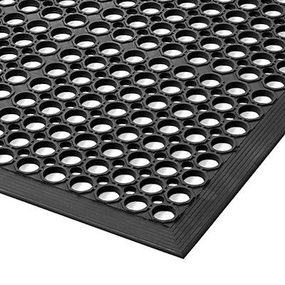 Tapis perforé pour poste de travail - l x h 910 x 12,7 mm