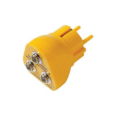 Notrax Erdungsstecker - ESD - gelb