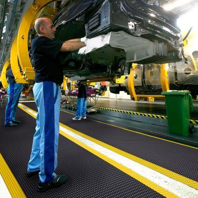 Arbeitsplatzmatte, Höhe 19 mm - Breite 1520 mm, pro lfd. m
