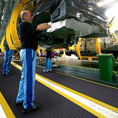 Tapis pour poste de travail, hauteur 19 mm - largeur 910 mm, au mètre