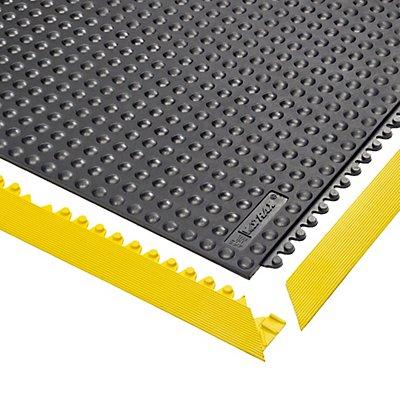 Système emboîtable en caillebotis, surface antistatique à bulles - L x l x h 910 x 910 x 13 mm - noir