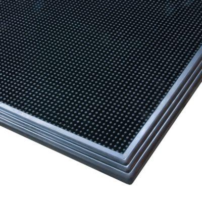 Desinfektionsmatte - LxB 810 x 610 mm - schwarz
