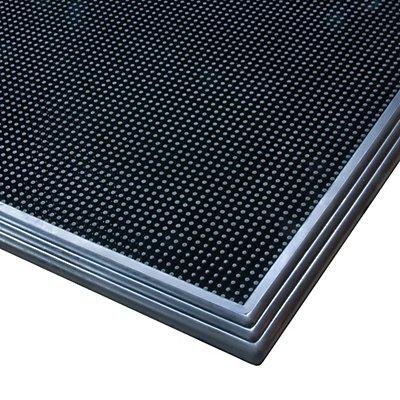 Notrax Desinfektionsmatte - LxB 810 x 610 mm - schwarz