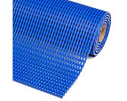 Anti-Rutschmatte, PVC - Breite 900 mm, pro lfd. m - blau