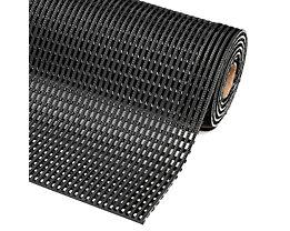 Anti-Rutschmatte, Höhe 12 mm - Breite 900 mm, pro lfd. m - schwarz