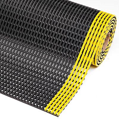 Tapis antidérapant, hauteur 12 mm - largeur 1200 mm, au mètre