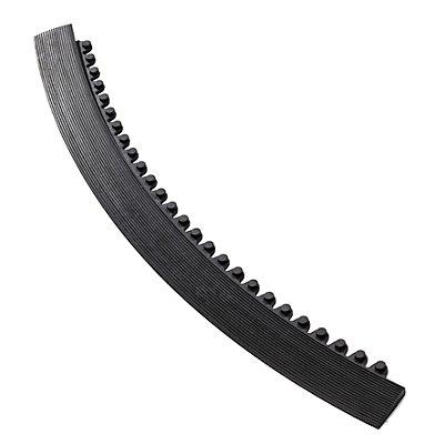 Notrax Kantenleiste - außen - schwarz