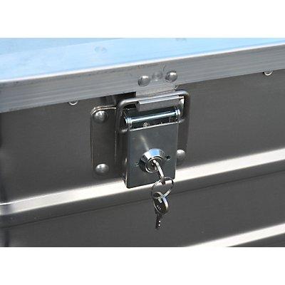 Gmöhling Alu-Kastenwagen, allseitig geschlossen - Außen-LxBxH 1280 x 730 x 935 mm