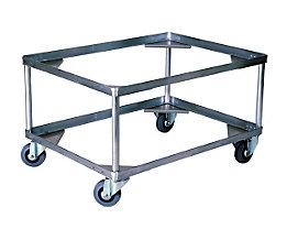Alu-Fahrgestell, Ladehöhe 440 mm - Innen-LxB 772 x 572 mm