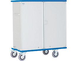Schrankwagen aus Alu - Tragfähigkeit 300 kg