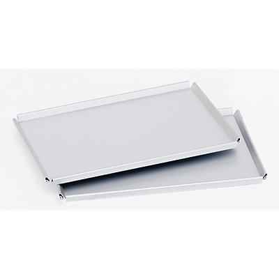 Gmöhling Tablett für Servierwagen - LxB 700 x 445 mm, Aluminium