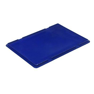 Auflagedeckel für RL-KLT-Behälter - aus PP, blau