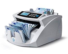 Automatischer Banknotenzähler - 3fache Falschgelderkennung