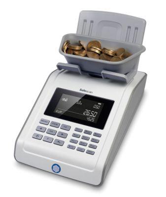 Münz- und Banknotenzähler - SAFESCAN 6185, zählt alle Währungen