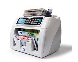 Automatischer Banknotenzähler - mit 6facher Falschgelderkennung, EUR Wertzählung