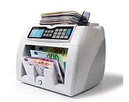 Automatischer Banknotenzähler - mit 6facher Falschgelderkennung, EUR / GBP Wertzählung