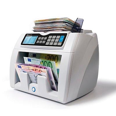 Automatischer Banknotenzähler - mit 6facher Falschgelderkennung, EUR / GBP Wertzählung, SAFESCAN 2685-S