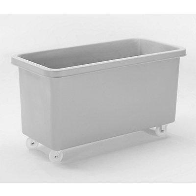 Rechteckbehälter aus Polyethylen, fahrbar - Inhalt 450 l