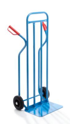 EUROKRAFT Stapelkarre - mit extra breiter Schaufel