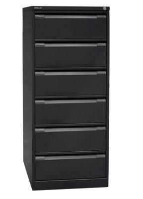 bisley  Bisley Armoire à fiches, deux rangées, format A5, 6 tiroirs, noir... par LeGuide.com Publicité