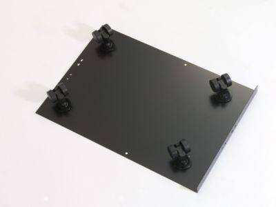 Bisley MultiDrawer™ Rollenuntersatz - für Format DIN A3 - schwarz