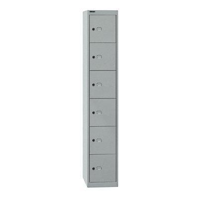 Bisley OFFICE Garderobenschrank - 1 Abteil, 6 Fächer
