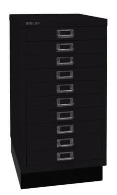 Bisley MultiDrawer™ 29er Serie - mit Sockel, DIN A3, 10 Schubladen