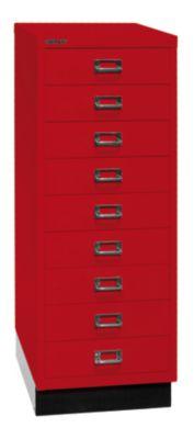 Bisley MultiDrawer™ 39er Serie - mit Sockel, DIN A3, 9 Schubladen