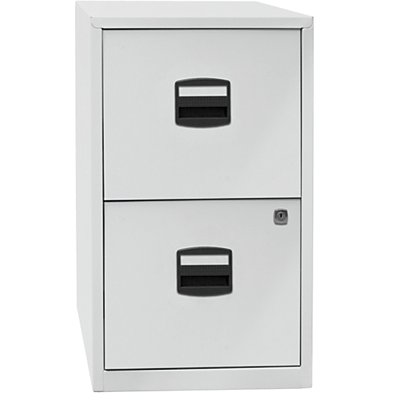 Bisley home classeur pour dossiers suspendus pfa 2 tiroirs - Classeur 2 tiroirs pour dossiers suspendus ...