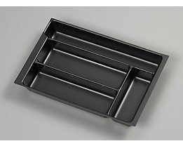 Bisley MultiDrawer™ Schreibwareneinsatz - für Format DIN A4 - 4 Fächer | PIT580P1800