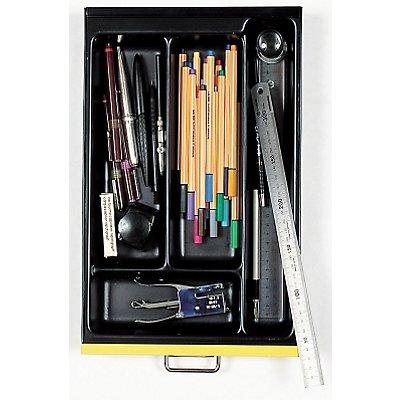 Bisley MultiDrawer™ Schreibwareneinsatz - für Format DIN A4 - 4 Fächer