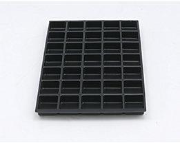 Bisley MultiDrawer™ Schubladeneinsatz - Höhe 22 mm, für DIN A4 Schubladen - 35 Fächer | 221P1800