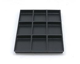 Bisley MultiDrawer™ Schubladeneinsatz - Höhe 22 mm, für DIN A4 Schubladen - 9 Fächer