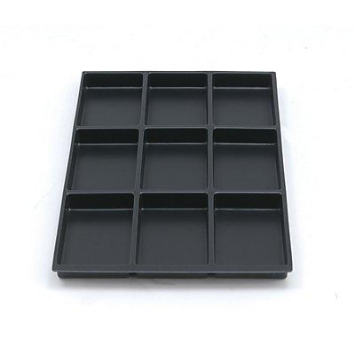 Bisley MultiDrawer™ Schubladeneinsatz - Höhe 22 mm, für DIN A4 Schubladen
