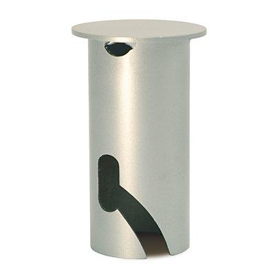 MORAVIA Abdeckkappe für Bodenhülse - mit Bajonett-Schnellverschluss - für Ø 76 mm