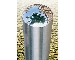 Edelstahlpoller - zum Herausnehmen, mit Zylinderschloss