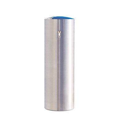 MORAVIA Edelstahlpoller XL - zum Herausnehmen, mit Zylinderschloss - Ø 204 mm