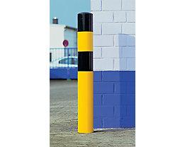 Rammschutz-Poller - Größe XL, schwarz / gelb