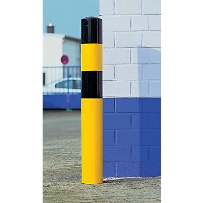 MORAVIA Rammschutz-Poller - Größe XL, schwarz / gelb