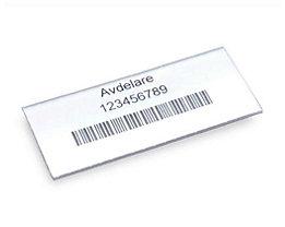 Etiketten - für Regalkasten, Höhe 30 mm - Breite 60 mm, VE 100 Stk